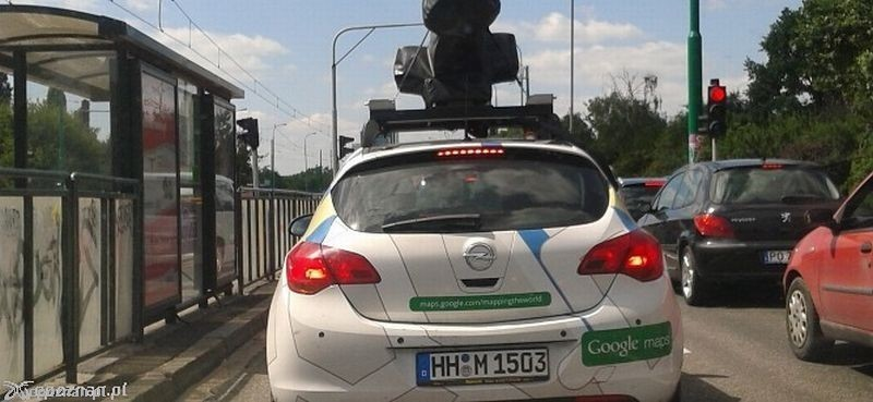 Samochody Google Street View Ponownie Beda Jezdzic Po Poznaniu