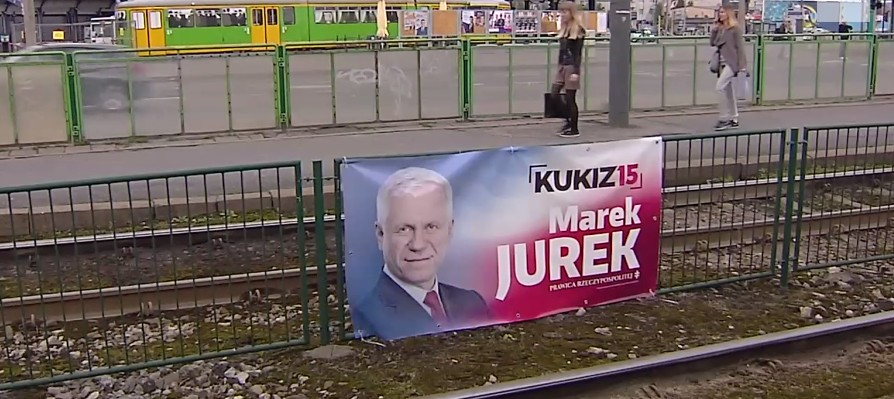 Trwa Kampania Plakaty Wyborcze Pojawiają Się W
