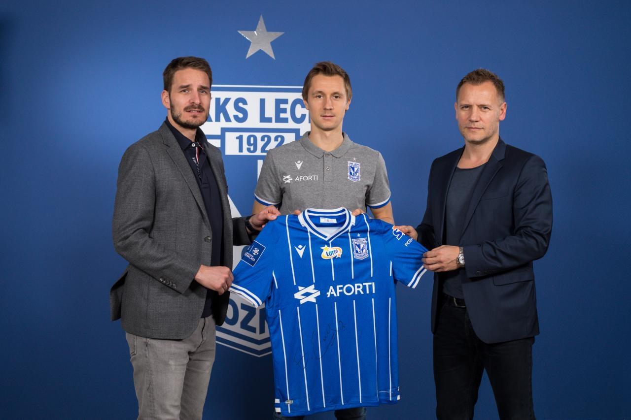 Bohdan Butko piłkarzem Lecha Poznań. Wypożyczono go z Szachtara Donieck