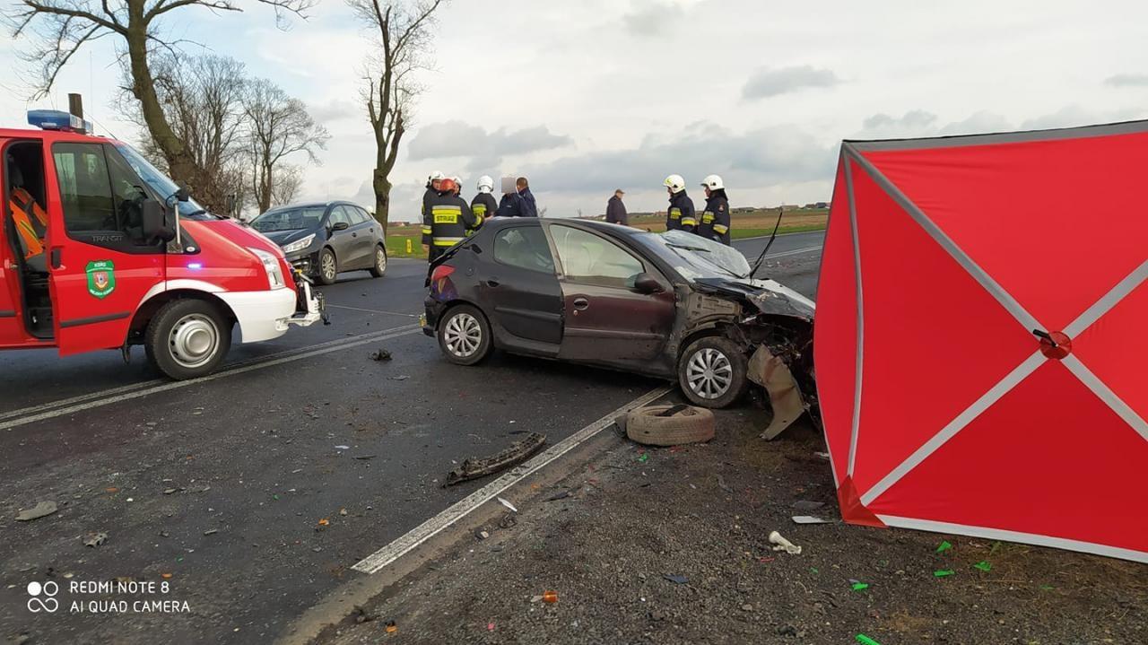 Tragiczny wypadek na trasie Rawicz - Krotoszyn